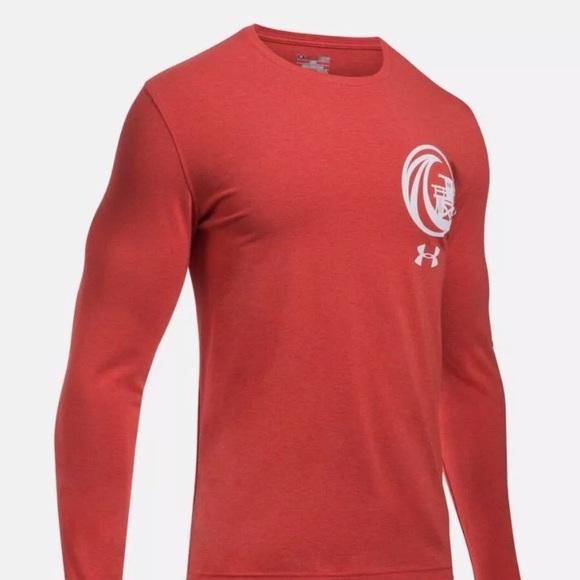 b08529b67d Under Armour Shirts | Baywatch Lifeguard Long Sleeve Size L | Poshmark